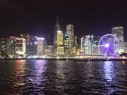 HK's Lights on a rainy night , Nitz - August 2016