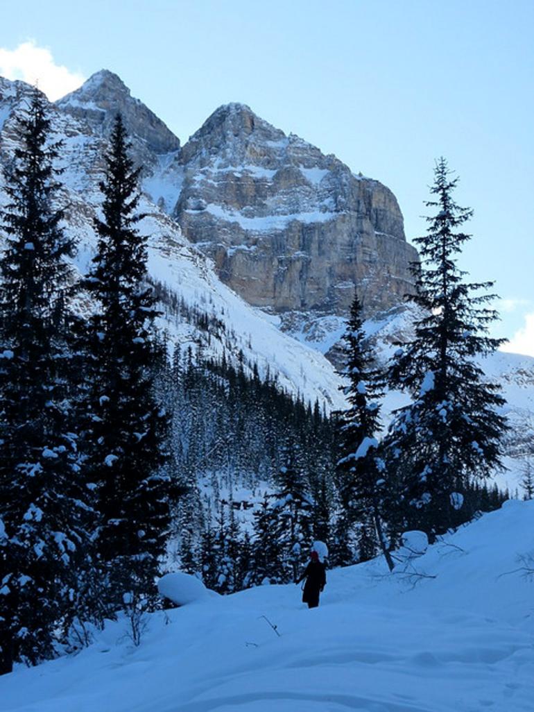 Lake Louise Cliff - Banff
