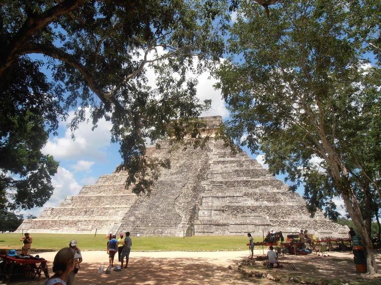 Leaving Chichen Itza - Cancun
