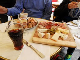 Lunch on the tour! , Marcelle G - October 2014