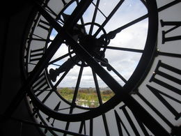 Renoir, Degas, Monet, Manet, Cezanne, van Gogh, Gaugin and a view of Paris through the clockface. , Robyn A - October 2015