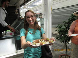 Highly recommend this tour. The cannoli's were delicious as well as all the other treats. The vegetable market was so much fun. Can't forget the buffala mozzarella. It was out of this world. Thanks ... , Sal S - July 2014