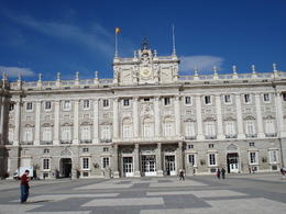 Palacio Real, Cat - January 2012