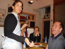 Adela learns to share with others in class! - November 2008