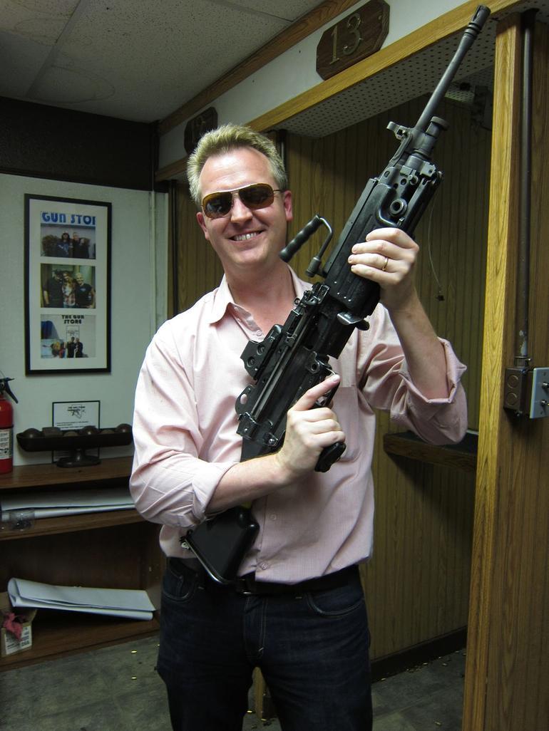 The Dunc with a BIG GUN - Las Vegas