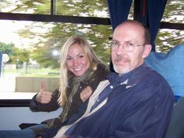 On the bus, heading to the Tigre Delta. - March 2008