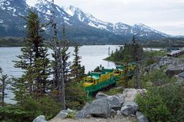 This was taken at Frasier where the train stops and we kept on going up to the Yukon. , Linda B - July 2014