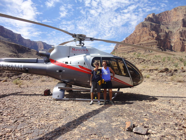 With our Helicopter - Las Vegas