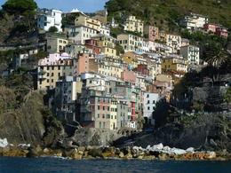 Cinque Terre by the boat , 2dhismom - January 2017