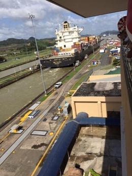 Canal - Ship Departure , matthewsse - January 2017