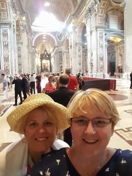 Inside St. Peter's. , debbie.cifone - June 2017
