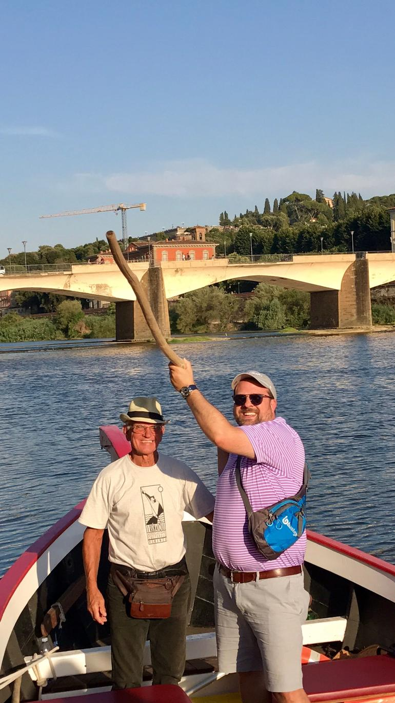Florence River Cruise on a Traditional Barchetto photo 9