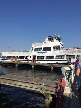 The cruise boat. , Connie C - September 2017