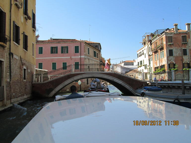 Arrival in Venice - Venice