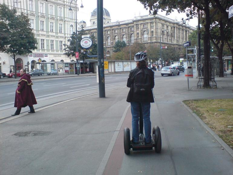 Beginning the tour - Vienna