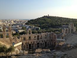 View of Athens from the top of the Acropolis, Leah - August 2013
