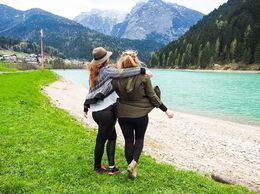Italian Alps , Danielle B - April 2016