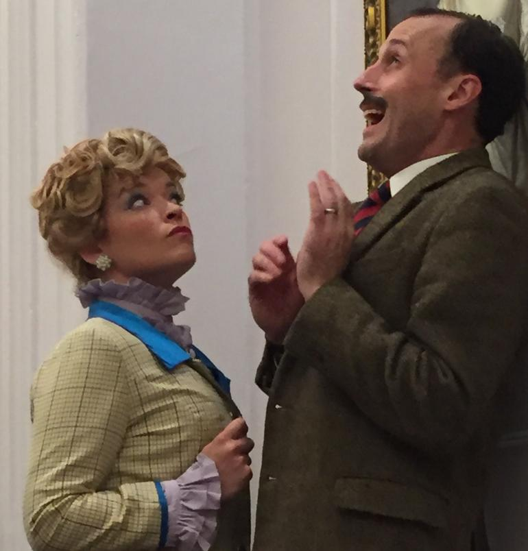 Mr and Mrs Fawlty