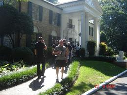 This is my husband. This trip was his 50th birthday present, he has always wanted to visit Graceland., Carol D - October 2008