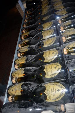 Rows and Rows of Dom Perignon; Champagne Lovers Dream , Leah68 - August 2011