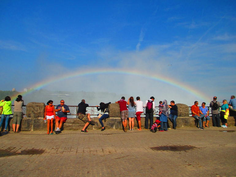 Rainbow at Niagara Falls -