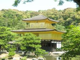 The Golden Pavilion in Kyoto. - June 2008