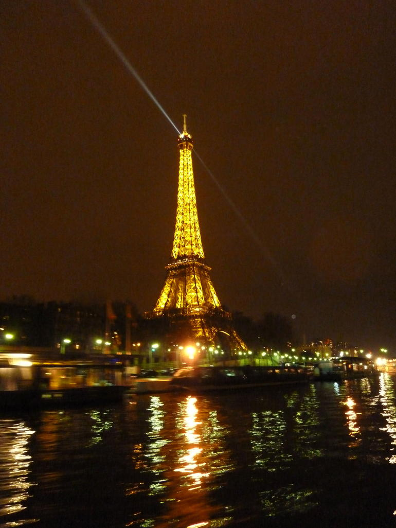 View from the cruise - Paris