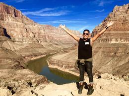 Ruben in front of Grand Canyon , Ruben V - January 2017