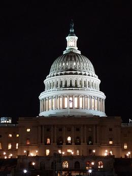 Capitol on a Feb night , LINDA A T - February 2017