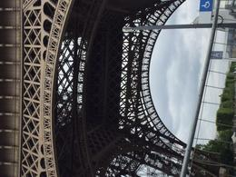 Eiffel Tower from the underside. , Thea B - August 2017