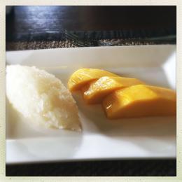 Coconut sticky rice with Mango , Amr Heikal - September 2017