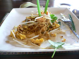 Thai pad food , Julianne D - August 2012