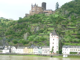 Just one of the many Castles perched along the Rhine managed to take this in a break from the rain.. , Phill - June 2016