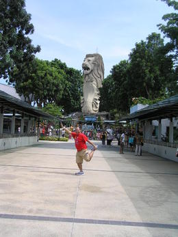 I thought I can replicate the merlion :-) , Roderick A O - September 2012