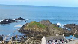 Coastal view at Ballintoy , Joseph L - August 2015