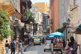 Bustling street., Bandit - September 2012