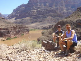 In the Grand Canyon, Ed - August 2011