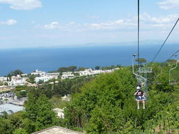 Looking back towards the Italian coast. , Maria C - May 2011