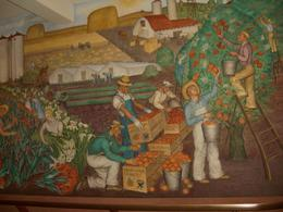 Coit Tower Mural 6 - farm workers in the fields of California, skigirlsf - December 2011