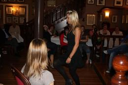 Entertaining dancing, Betty S - July 2009