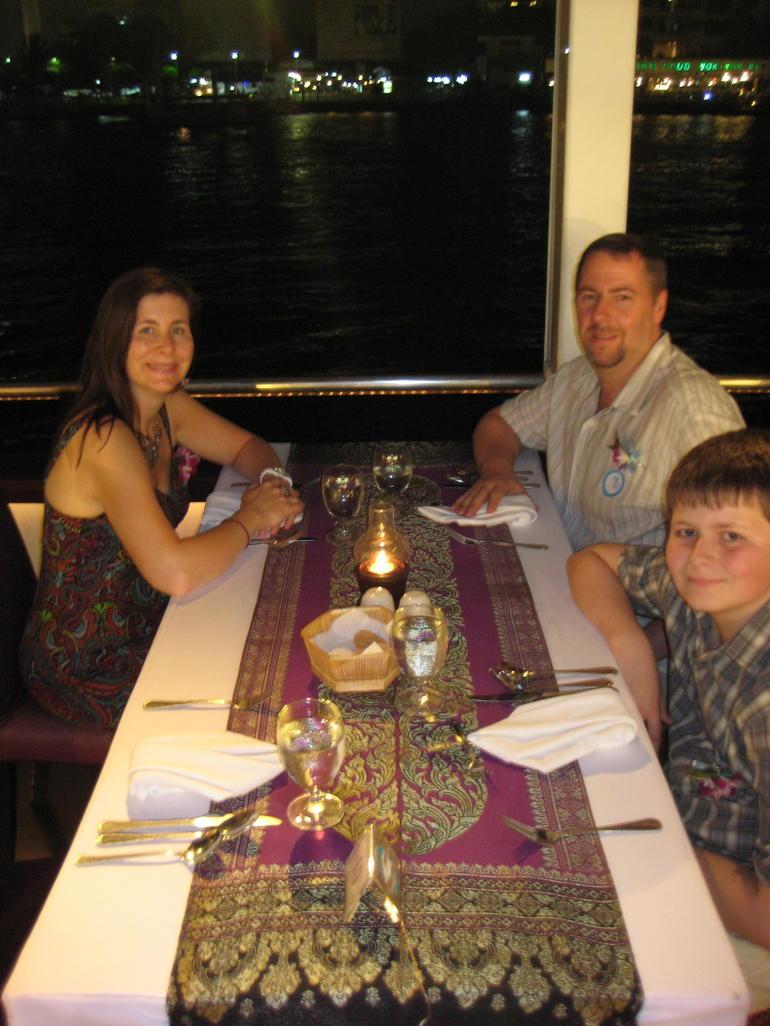 Enjoying our Cruise - Bangkok