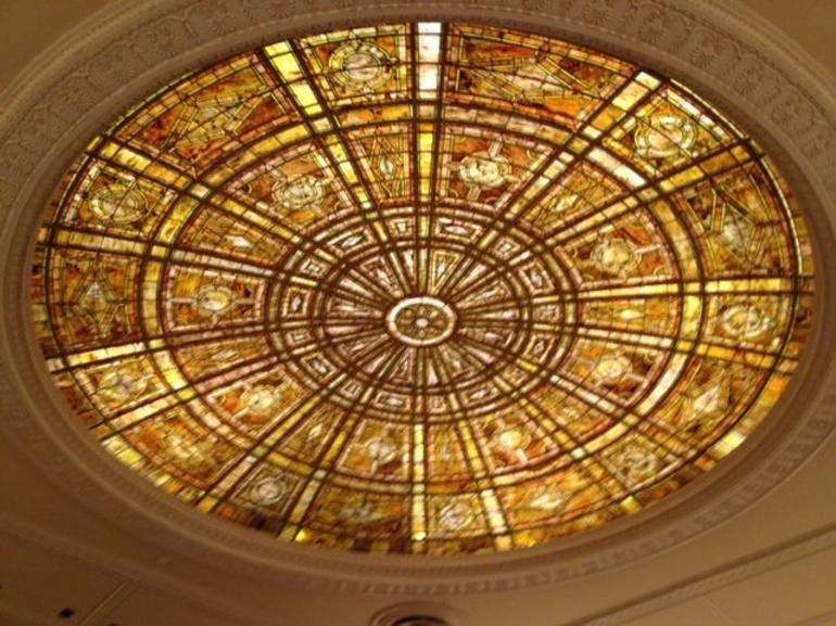Fullerton Hall dome - Chicago
