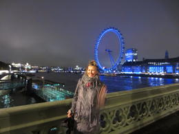 Carol at the London Eye , Mr R J V - October 2012
