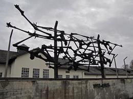 Yet another moving memorial to those who lost their lives at Dachau., Ron - December 2009