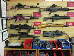 Some ladies might prefer a pink weapon?, Jeff - October 2010