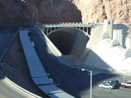 This tube is used in the event that the water rises in excess, located along the side of the dam. , Nana - November 2012
