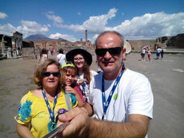 My famaly in pompeia , Teresa B - August 2015