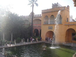 Real Alcazar Seville, Blanca - January 2013