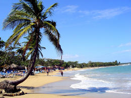 Strollin' the Playa Dorada (beach in Puerto Plata) by Jeff via Flickr ~ used under CC-BY-ND license - September 2011
