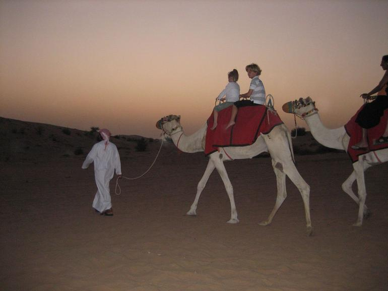 Sunset Camel Ride - Dubai